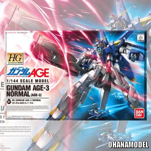 HG 1/144 GUNDAM AGE-3 NORMAL [Bandai]
