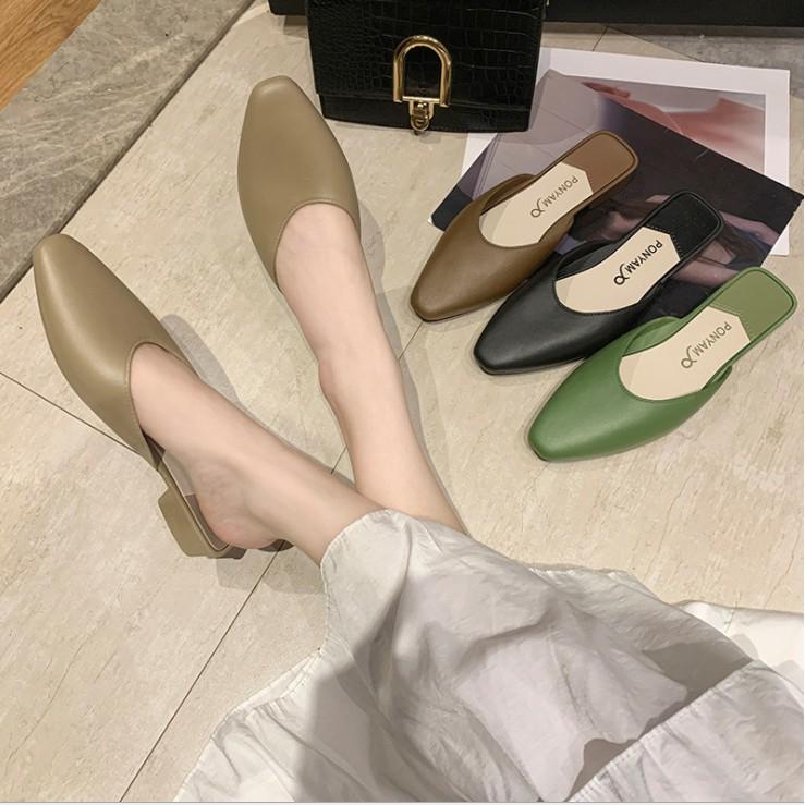 รองเท้าคัชชู รองเท้าคัชชูผู้หญิง รองเท้าผู้หญิง รองเท้าแตะผู้หญิง รองเท้าแตะแฟชั่น