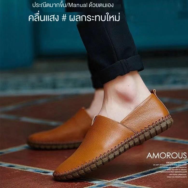 รองเท้าผู้ชาย,รองเท้าหนังผู้ชาย,รองเท้าโลฟเฟอร์,/รองเท้าหนัง、รองเท้าผ้าใบแฟชั่นผู้ชาย,รองเท้าคัชชูสีดำ, size39-44