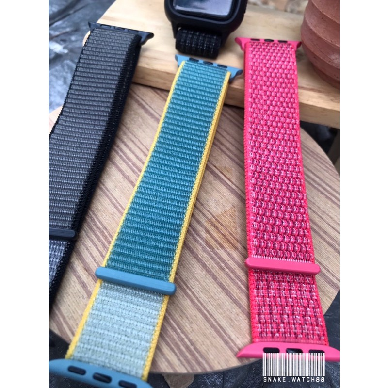 สาย applewatch nylon loop 42/44""