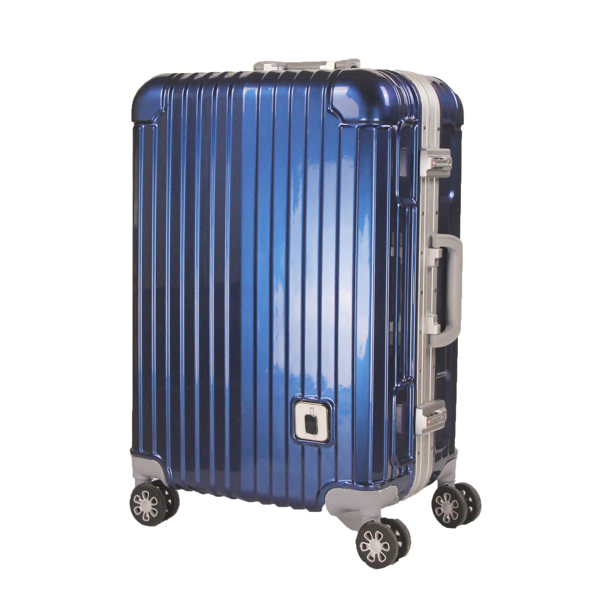 ละครเกาหลีพร้อมกล่องรถเข็นอลูมิเนียม กระเป๋าเดินทางล้อเลื่อน ABS+PCกระเป๋าเดินทาง 20-นิ้ว24-กระเป๋าเดินทางโครงบอร์ดขนาดน