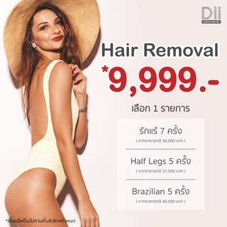 Dii Hair Removal 9,999