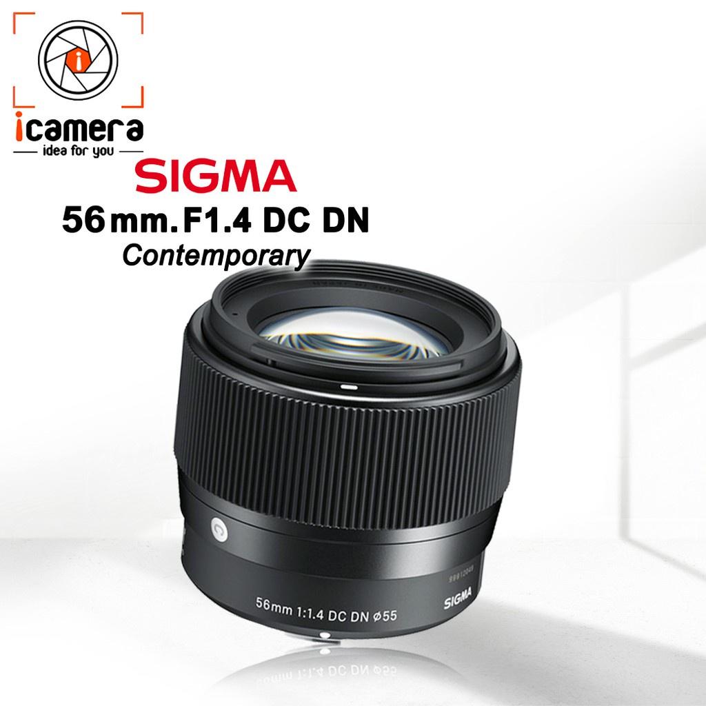 ✴Sigma Lens 56 mm. F1.4 DC DN (Contemporary) มิลเรอร์เลส - รับประกันร้าน i camera 1ปี♒