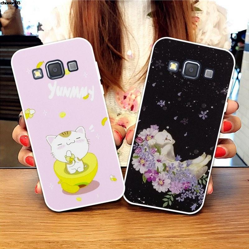 Samsung A3 A5 A6 A7 A8 A9 Star Pro Plus E5 E7 2016 2017 2018 BY-HDZT Pattern-6 Soft Silicon TPU Case Cover