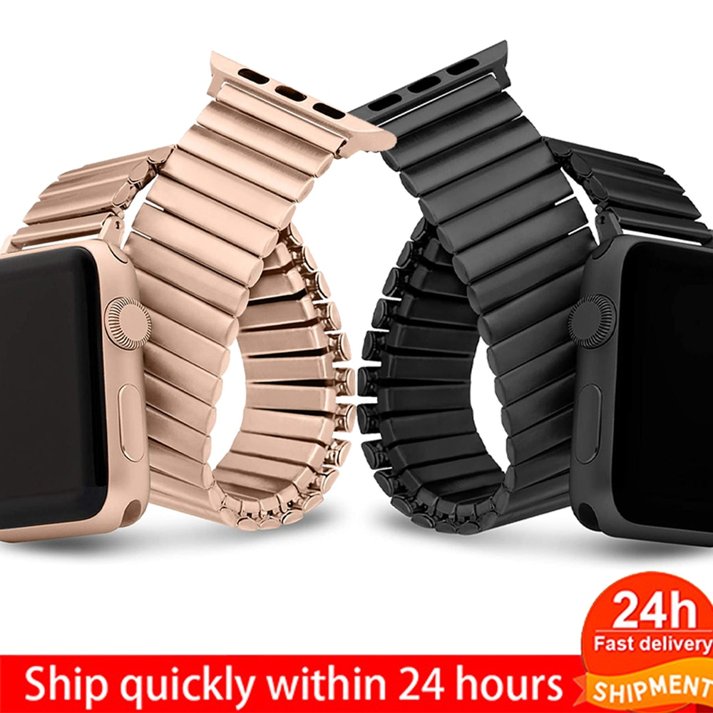 Apple watch elastic band, apple watch accessories 5, 40mm, 44mm, 42mm, 38mm, series 6, 4, 3, expansion band