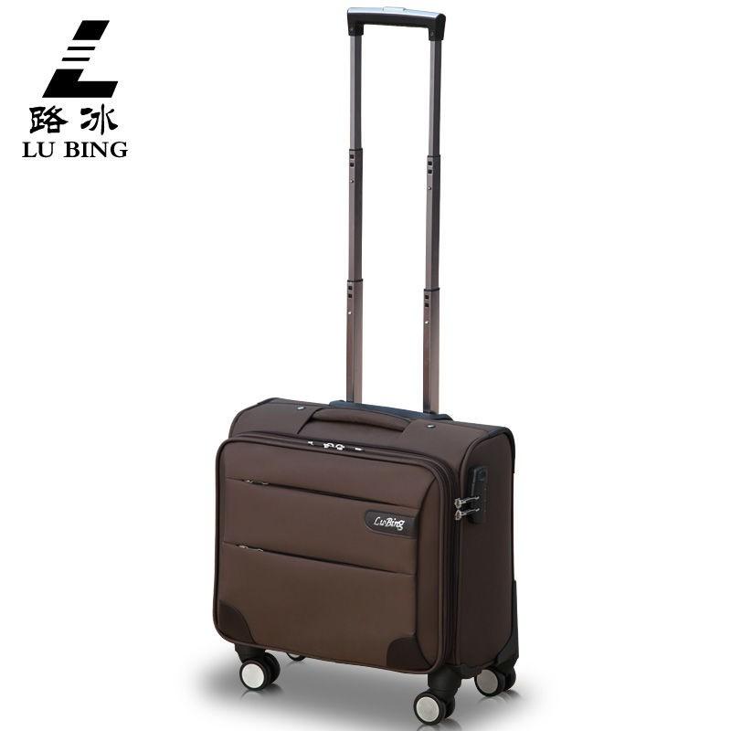 ✜❃✽กระเป๋าเดินทางล้อลาก 14 นิ้ว กระเป๋าเดินทางล้อลากธุรกิจขนาด 16 นิ้ว กระเป๋าเดินทางขนาดเล็ก 18 นิ้วแนวนอน กระเป๋าเดินท