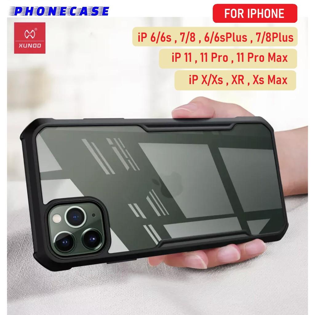 ✜♙◑❌รับประกันสินค้า❌ XUNDD Case iPhone 6/6s 7/8 6/6splus 7plus 8plus X/Xs XsMax 11 11pro 11promax เคสไอโฟน ของแท้ 100%