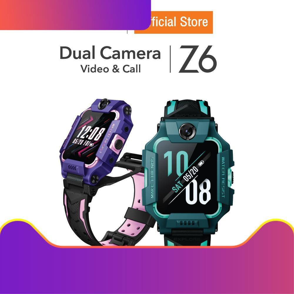☛imoo Watch Phone Z6 นาฬิกาไอโม่ ระบุตำแหน่ง วิดีโอคอล กล้องหน้า-หลัง  4G ติดตามตัวเด็ก ประกัน 1 ปี☞