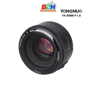 YONGNUO  LENS  YN 50mm F1.8 For CANON/Nikon DSLR   รับประกัน 1 ปี