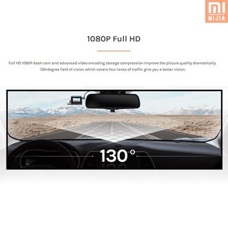 M & J Global Version Xiaomi 70 Mai Dash Cam Lite 1080 P HD GPS โมดูลติดรถยนต์ WiF