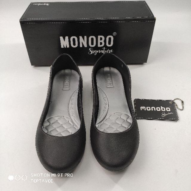Best SALE รองเท้าแฟชั่น รองเท้าคัทชูแฟชั่น **รับชำระปลายทาง** MONOBO EMMA ของแท้ คัชชูยางนิ่ม