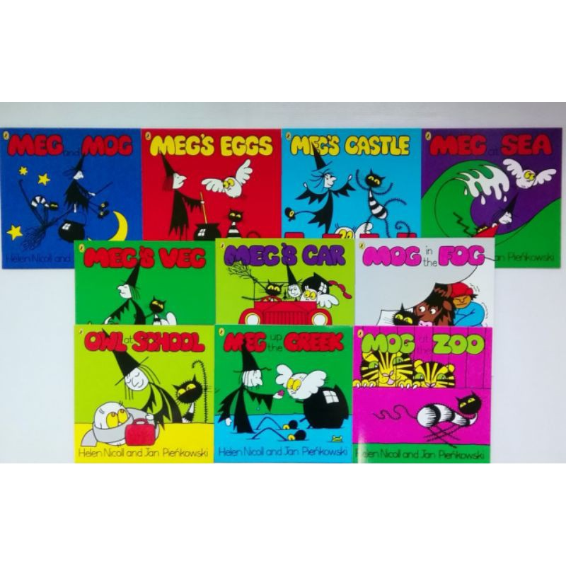 Meg and Mog picture books