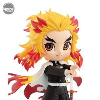 Review Banpresto Q Posket Demon Slayer : Kimetsu No Yaiba - Kyojuro Rengoku (Ver.A) 4983164170313 (Figure)