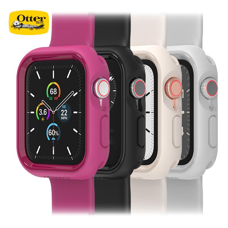﹢ # # OtterBoxสำหรับApple applewatch SE/6/5เคสกันกระแทกiwatch6/5/4เคสนาฬิกา44/40mm SHELL Apple Watch Series Watch Case