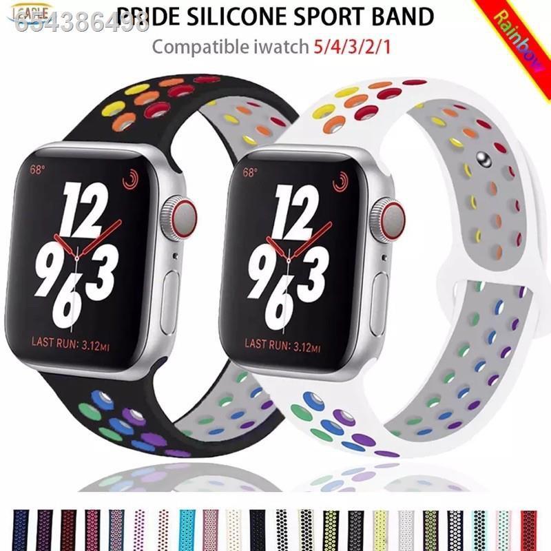 ♨New สาย Apple Watch Sport BAND FOR Series 1,2,3,4,5 สายนาฬิกา