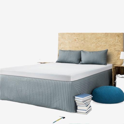 ☈▼■Topper ที่นอน ท็อปเปอร์ Mattress 6 ฟุต 5 3.5 ที่นอนท็อปเปอร์ ที่นอนเมมโมรี่โฟม