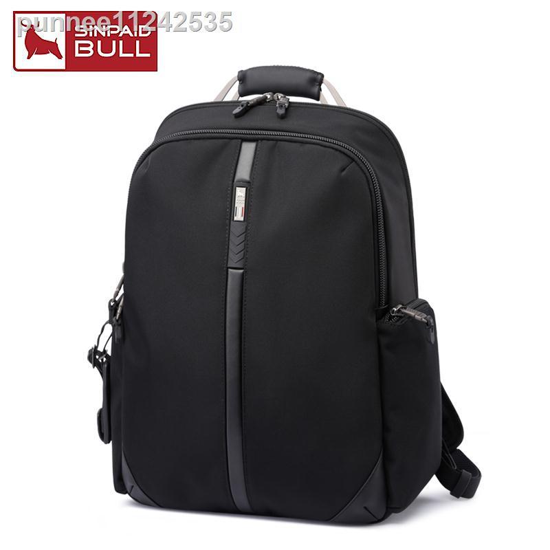 ∈2020 ใหม่กระเป๋าเป้สะพายหลังมัลติฟังก์ชั่นเดินทางกระเป๋า 15.6 นิ้วกระเป๋าคอมพิวเตอร์ธุรกิจกระเป๋าเป้สะพายหลังผู้ชายคว