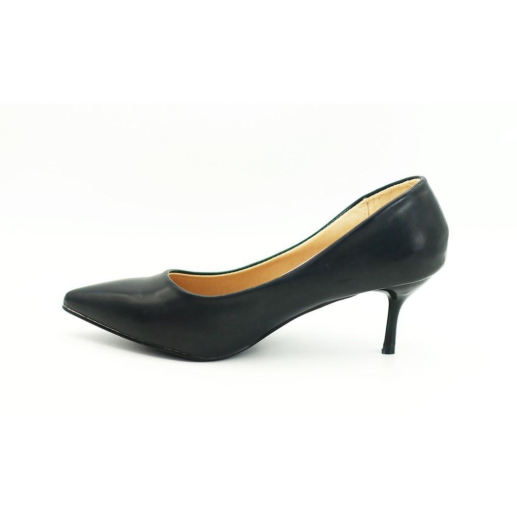 ✨ติกรองเท้าผู้หญิง✨♟◎┋ilu✓รองเท้า 9698 รองเท้าผู้หญิง รองเท้าคัชชู ส้นสูง รองเท้าคัชชูสีดำ รองเท้านักศึกษา รองเท้าส้นสูง