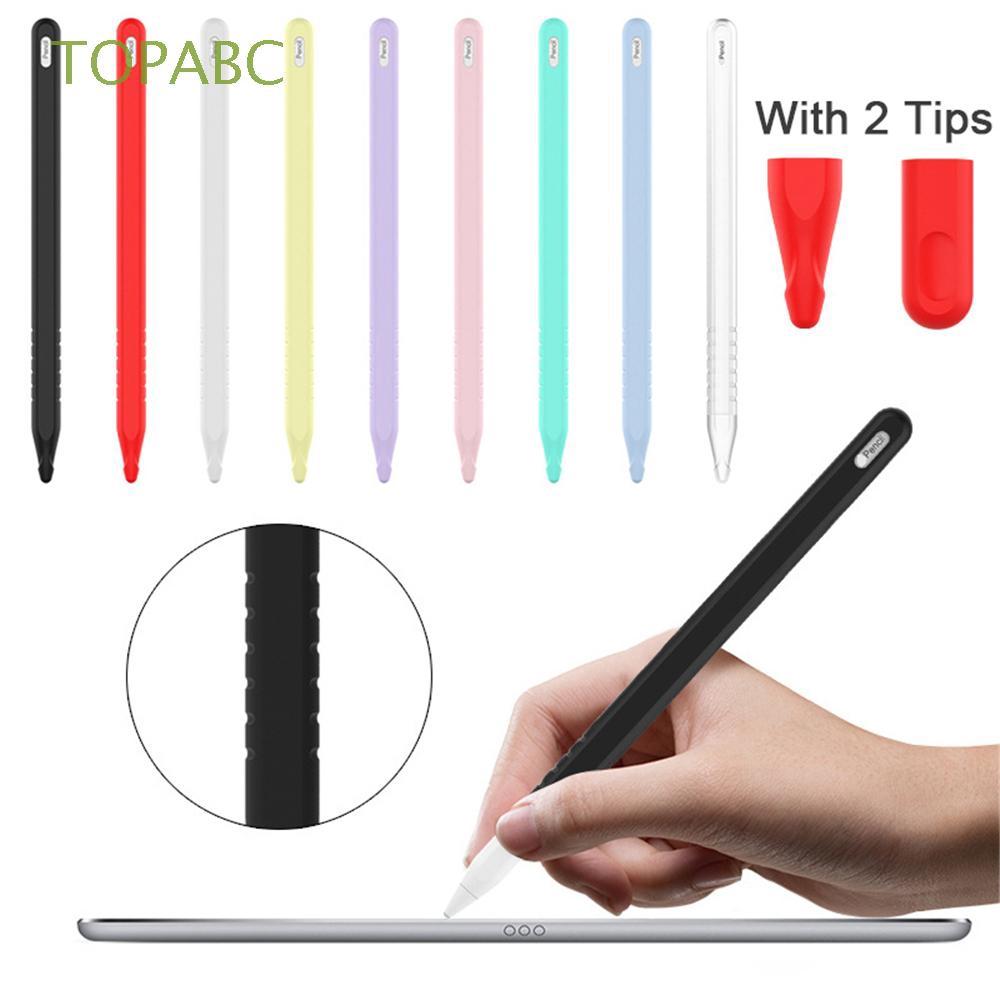 เคสซิลิโคนกันลื่นสำหรับ Apple Pencil 2 iPad pro
