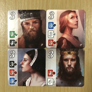 Splendor: Nobles Promo Tiles [Promo] [BoardGames]