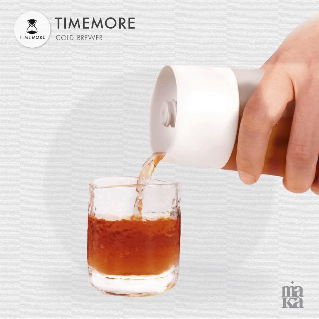 Timemore Cold Brewer ขวดแก้วสำหรับทำกาแฟสกัดเย็น ขวดกาแฟ กาแฟสกัดเย็น เครื่องชงกาแฟ อุปกรณ์ชงกาแฟ ขวด กาแฟ Awh9