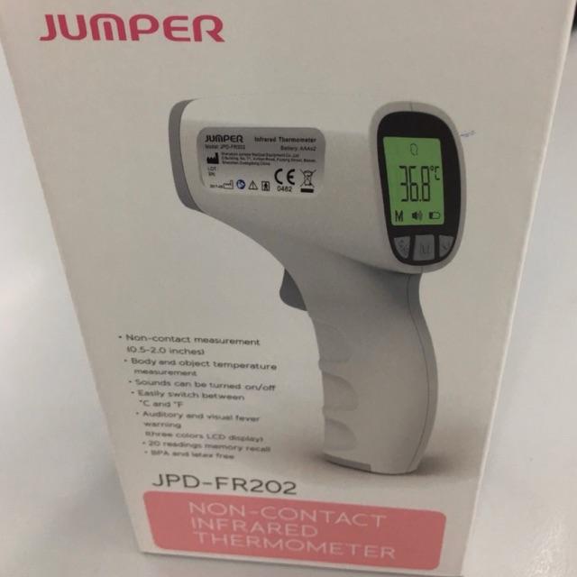 เครื่องวัดอุณหภูมิอินฟราเรด ยี่ห้อ jumper  รุ่น JPD - FR202