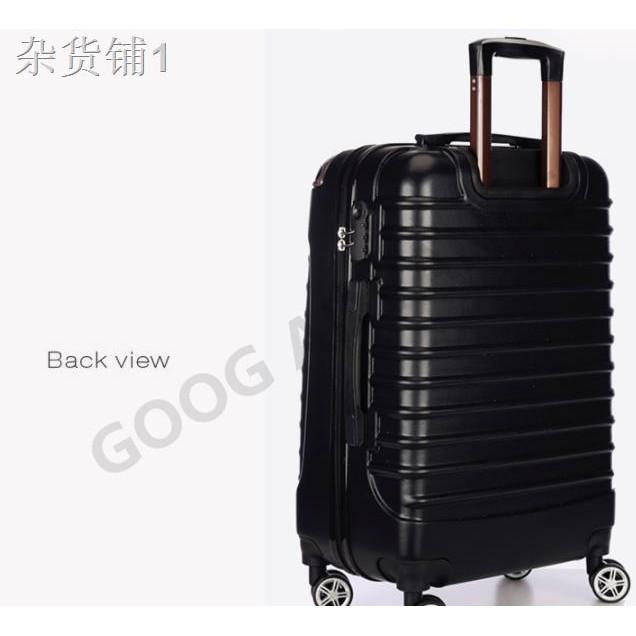 ☈กระเป๋าเดินทาง กระเป๋าล้อลาก กระเป๋าเดินทางล้อลาก 8 ล้อคู่ หมุนได้ 360องศา