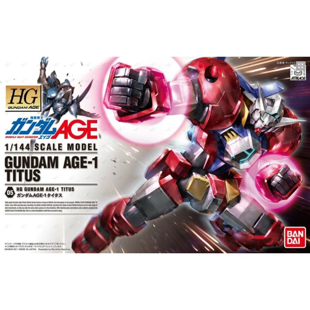 HG 1/144 : Gundam AGE-1 Titus