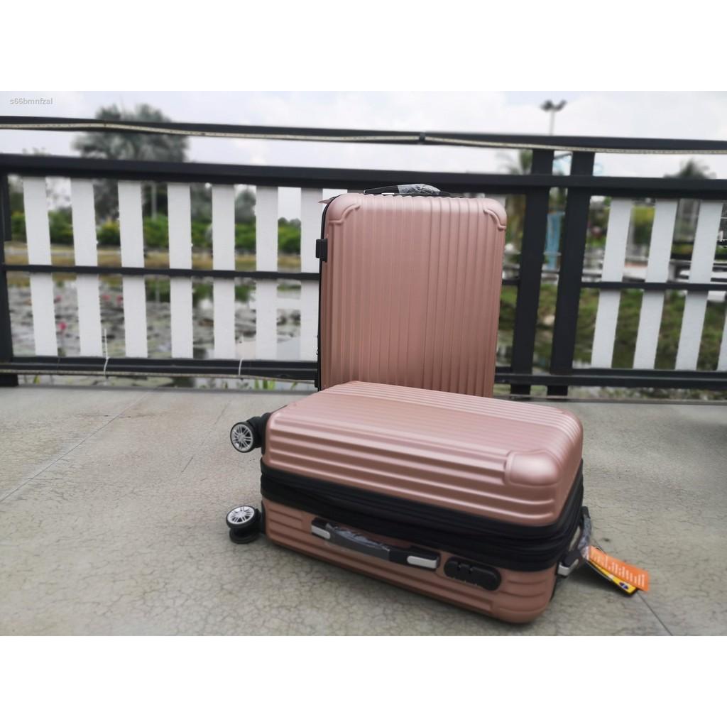 🔥รุ่นขายดี🔥❅☇♂กระเป๋าเดินทางล้อลาก 20/24/28 นิ้ว 8 ล้อ ABS แบบแข็งกระเป๋าเดินทางล้อลาก กระเป๋าเดินทาง กระเป๋า ล้อลาก