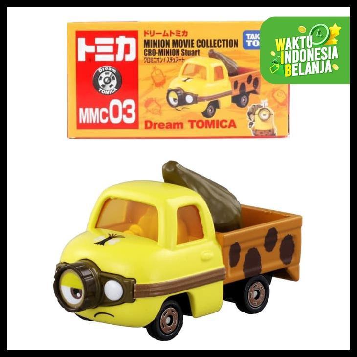 Tomica Dream Mmc 03 Cro Minion Stuart เครื่องประดับแฟชั่น