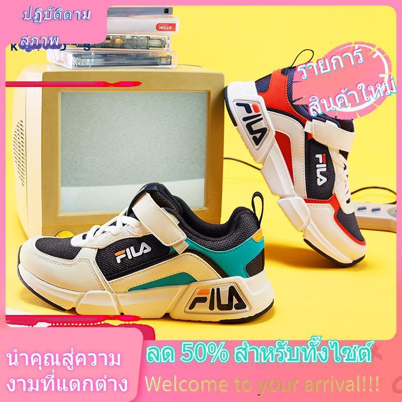 ♧❧ↂ[แนะนำโดย Wei Ya] FILA รองเท้าเด็กรองเท้ากีฬาเด็กผู้ชายและเด็กผู้หญิงปี 2020 รองเท้าวิ่งเด็กใหม่