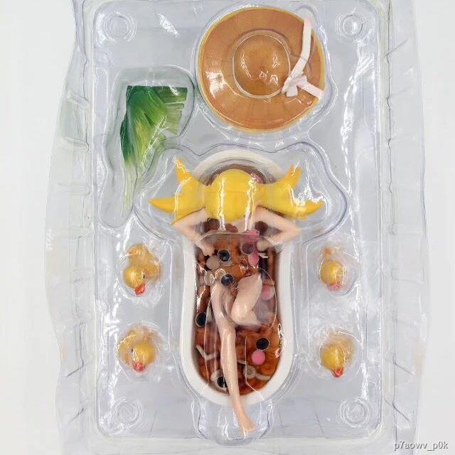 ส่งจากกรุงเทพ✎✆✖Aniplex Bakery Story Series Pseudo Oshino Shinobu Donut Bathtub Boxed Figure