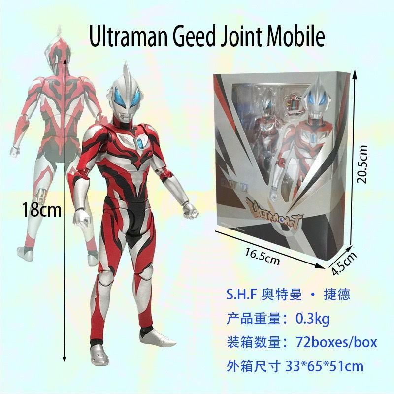 ของเล่นอนิเมะ☽♣act Ultraman Gyder Figure Original Form Action Figure Boxed Figure [โพสต์เมื่อวันที่ 18 สิงหาคม]