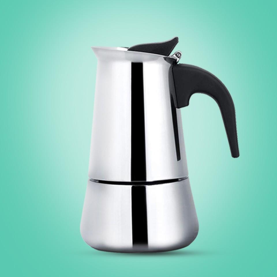 ✅🔥💥❁☒กาต้มกาแฟสด สแตนเลส เครื่องชงกาแฟสด แบบปิคนิคพกพา ใช้ทำกาแฟสดทานได้ทุกที