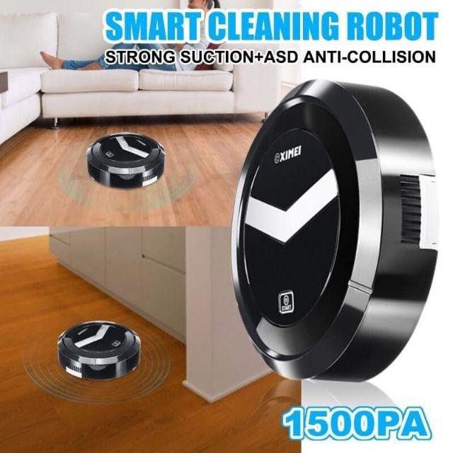 เครื่องกวาดพื้นอัจฉริยะ~ SMART ROBOT หุ่นยนต์ดูดฝุ่นเก็บเศษขยะอัตโ