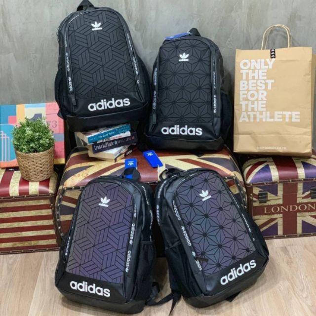 แท้💯% กระเป๋าเป้ Adidas Originals 3D Backpack กระเป๋าสะพายหลัง กระเป๋าเดินทาง กระเป๋าสะพาย