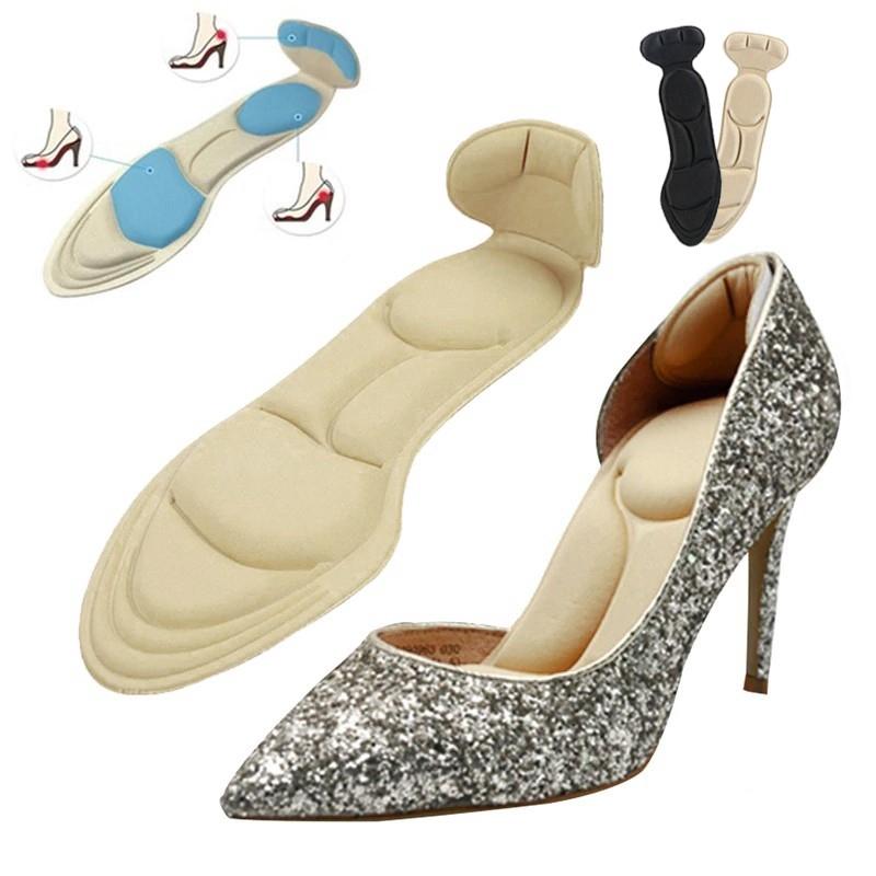 แผ่นรองเท้าเพื่อสุขภาพและกันรองเท้ากัด แผ่นรองเท้าส้นสูง แผ่นรองเท้าคัชชู High Heel Insoles (1แพ็ค=1คู่)