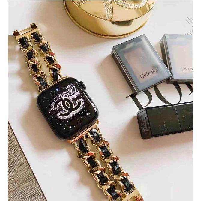สาย Apple Watch strap New style fashion strap for series 1 2 3 4 5 6 se Apple watch band 38/40mm 42/44mm VapU