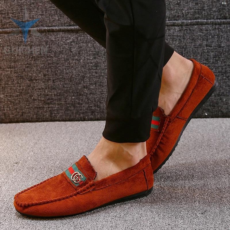 ◄⚡GC รองเท้าคัชชู รองเท้าโลฟเฟอร์หนัง สีดำ สำหรับผู้ชาย รองเท้าหนังแฟชั่น loafer 01