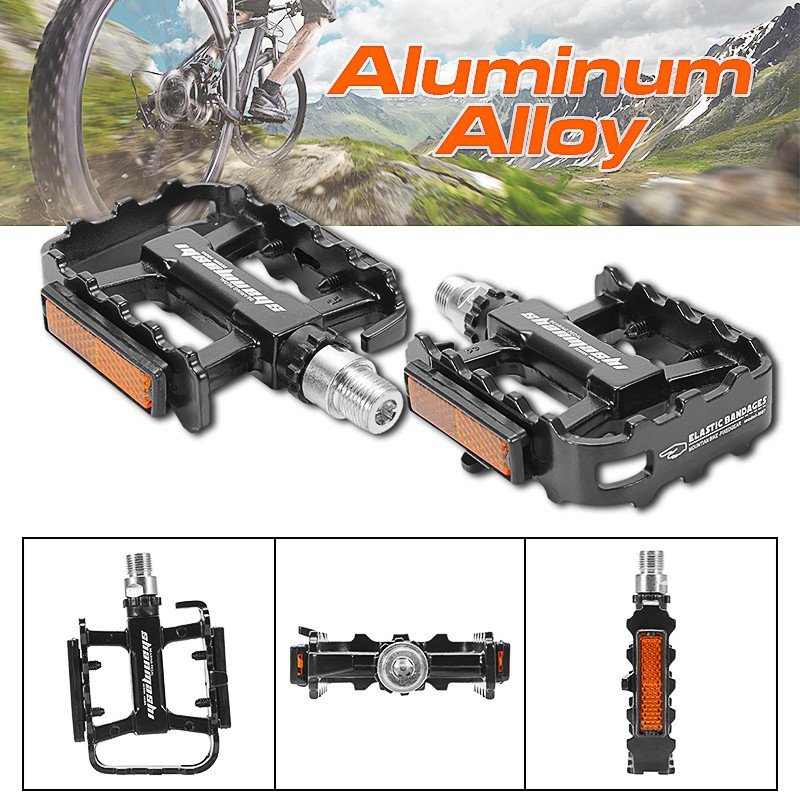 Bicycle Foldable Pedal Cycling Alloy Pedals MTB Folding Bike Pedal Alloy
