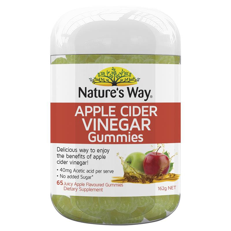 Nature's Way Apple Cider Vinegar 65 Gummies
