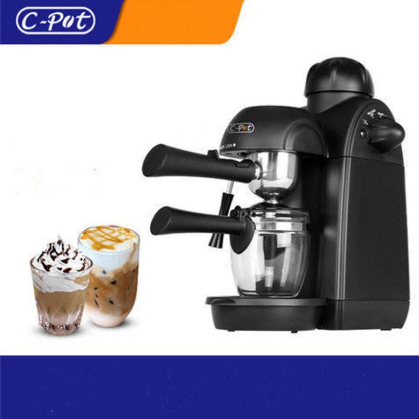 เครื่องใช้ในครัวเครื่องชงกาแฟเอสเปรสโซมินิเครื่องทำฟองนมไอน้ำในครัวเรือนเครื่องชงกาแฟแบบพกพา