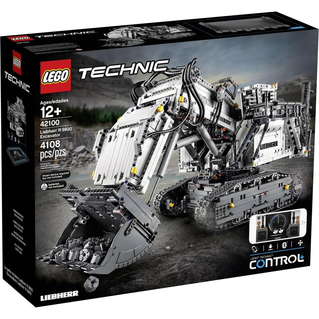 LEGO TECHNIC -Liebherr excavator R 9800 (42100)