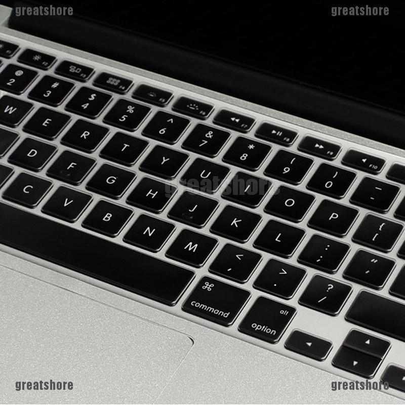 Soft Thin Silicone Keyboard Cover Skin for Apple MacBook Pro