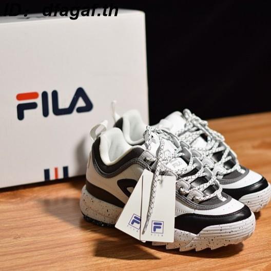 รองเท้าวิ่งรองเท้า Fila แบบสบาย ๆ