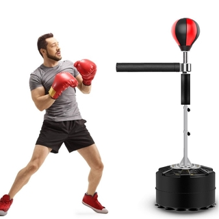 Boxing Professional Boxing Bag Heavy Stand Punching Bag With 360 Degree Reflex Bar Fitness Boxing Equipment For Home Gym