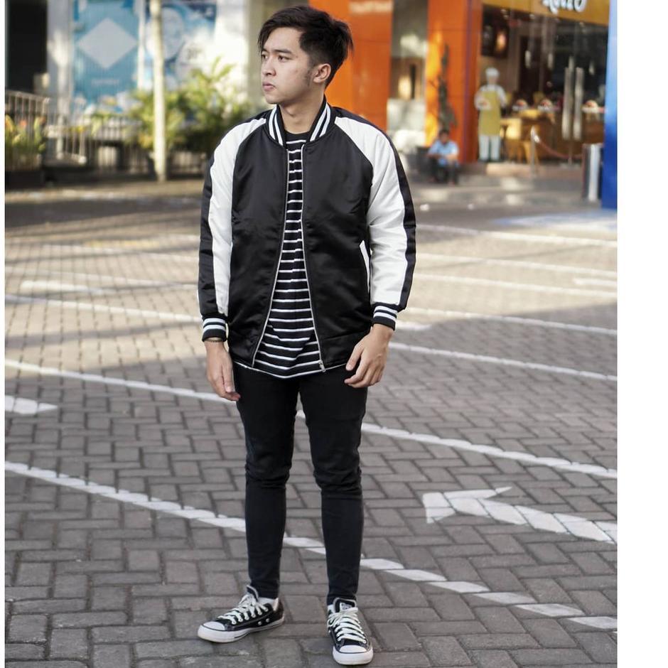 เสื้อแจ็คเก็ตบอมเบอร์ Sukajan Bomber Jacket - แจ็คเก็ตบอมเบอร์แฟชั่นผู้ชาย