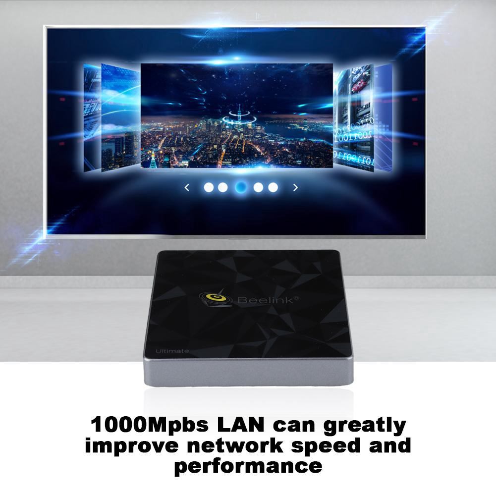 กล่องทีวีทีวี Beelink GT 1 S 912 3 + 32 G Dual WiFi + BT 4.0 STB HD Smart TV Box สำหรับ Android 7.1