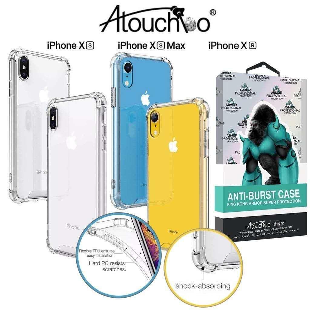 เคสใส กันกระแทก ของแท้100% Case iPhone 11 Pro MAX/ 11 Pro/ 11/ SE2 / XS MAX / XR / XS / X / 8+/8/7+/7/6s+/6+/6s/6/ เคสใส