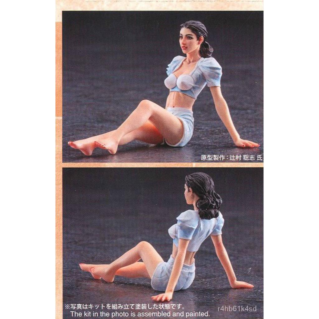 Resin Figure Kit 1/20 Leroy's Joy Unainted Garage Resin Kit#¥%¥# 2NNZ